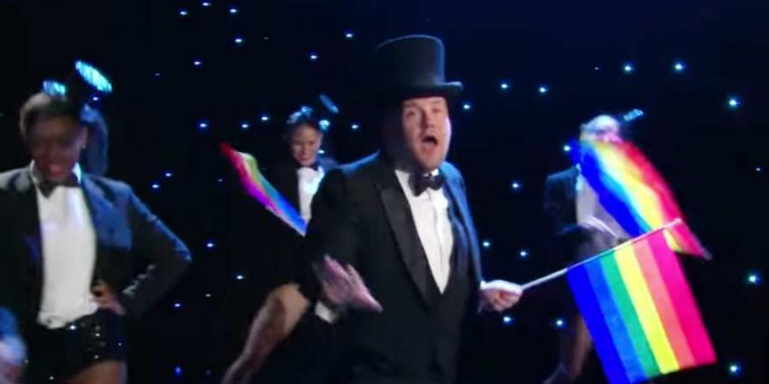 James Corden haalt uit naar Trump met muzikale parodie