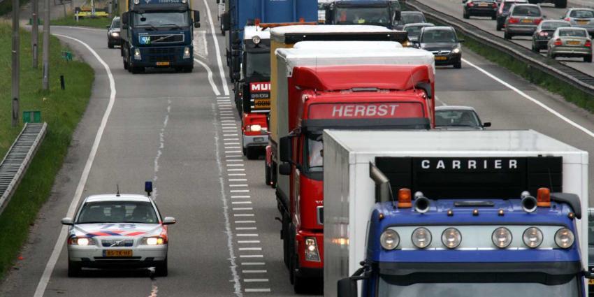 Deel oppositie stuurt aan op slim systeem vrachtautoheffing