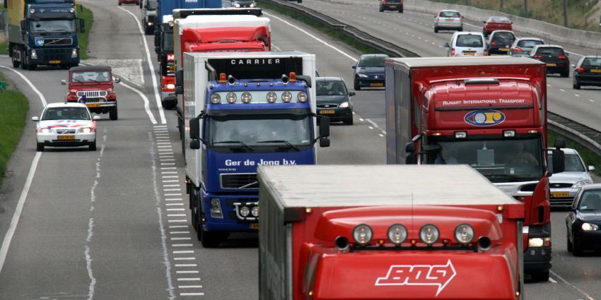Opnieuw toename binnenlands goederenvervoer