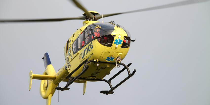 Motorrijder zwaargewond na val op A50