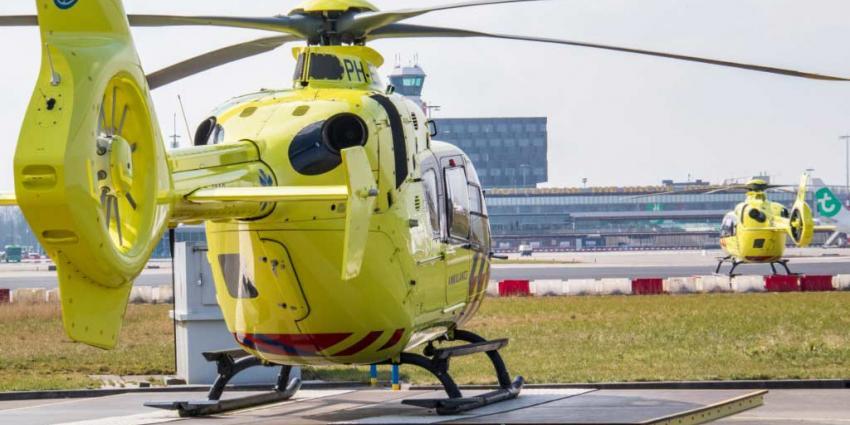 Nieuwe traumahelikopter voor regio Rijnmond