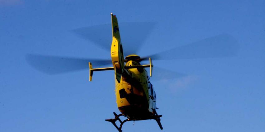 Foto van traumahelikopter