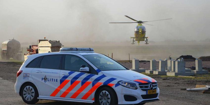 traumaheli-politieauto