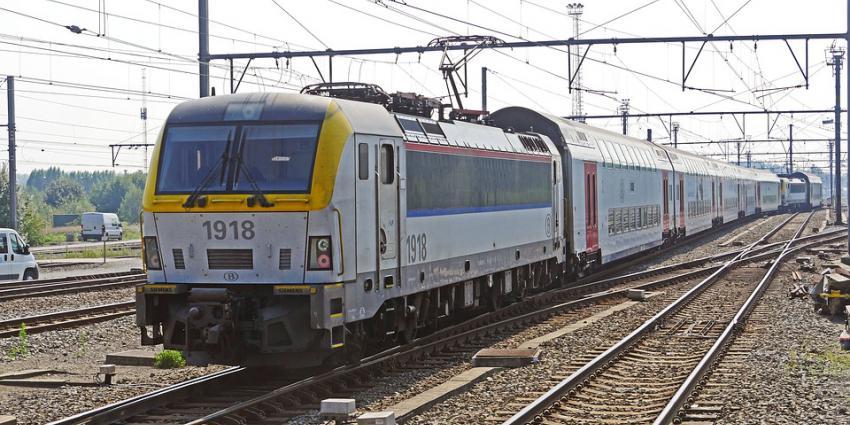 trein, spoor, belgië