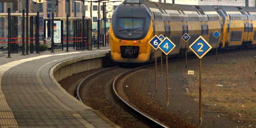 trein-perron-leeg