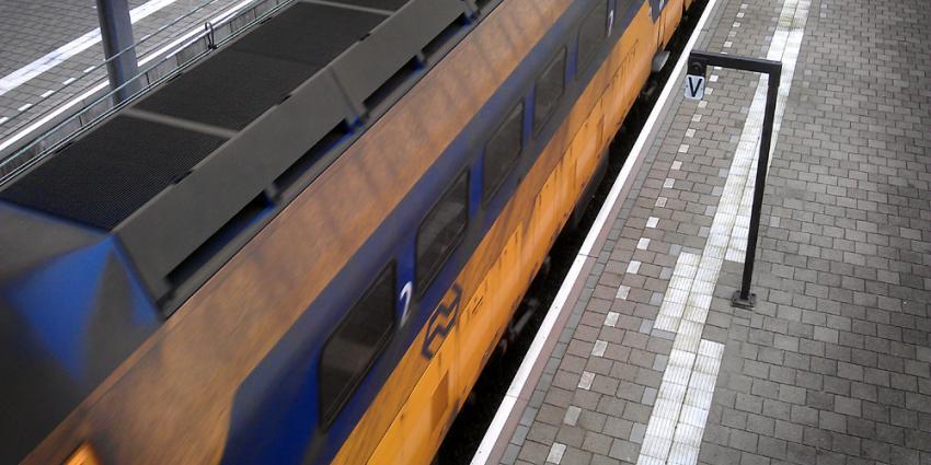 Foto van trein NS perron station | Archief EHF