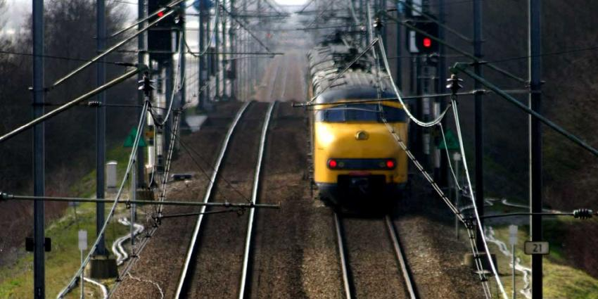Foto van trein op spoor perspectief | Archief EHF