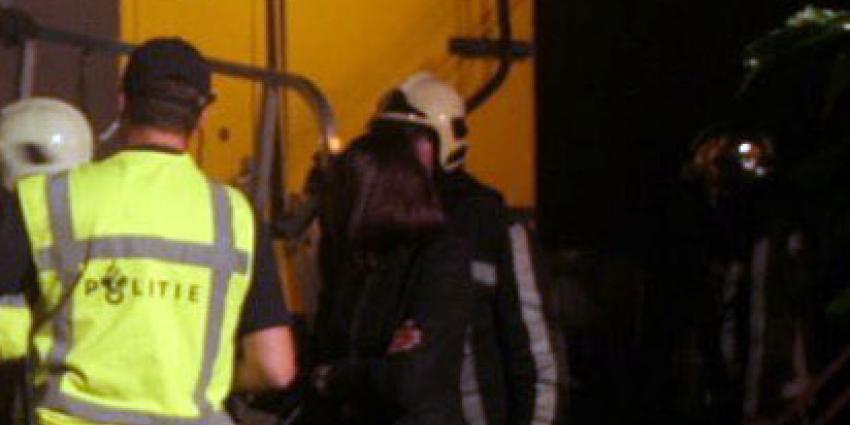Treinbrandstichter op heterdaad betrapt in Amsterdam