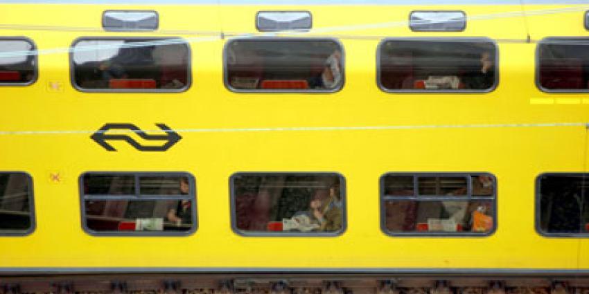 Foto van trein passagiers | Archief EHF