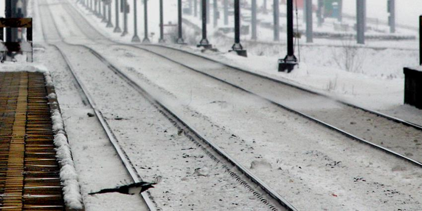 Zaterdag gladheid en de helft minder treinen door verwachte sneeuwval