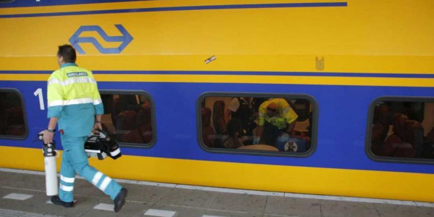 76-jarige man overleden na aanrijding met trein op Gouda CS