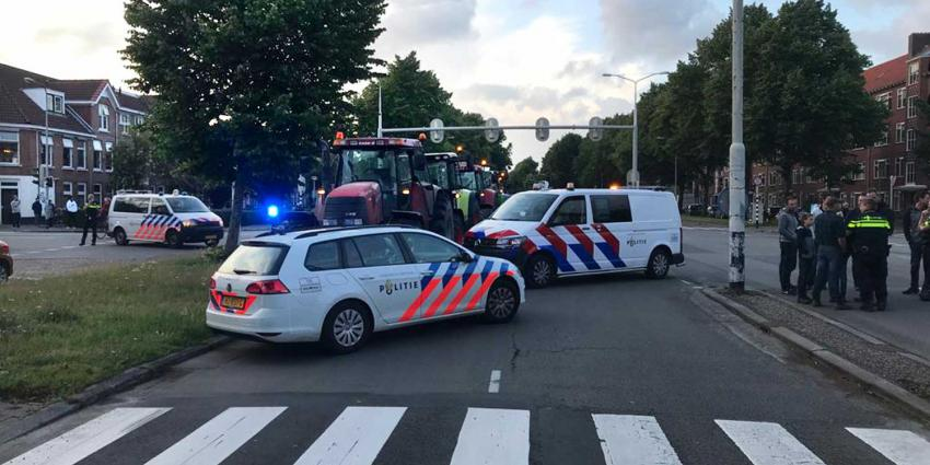 trekkers-boeren-politie