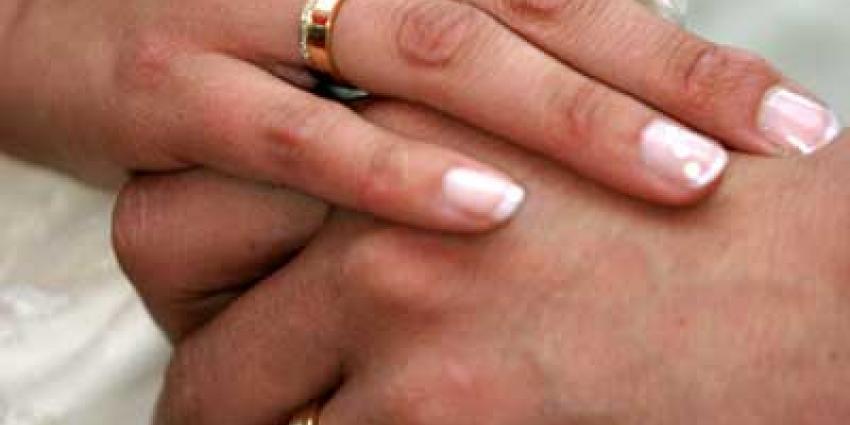 Foto van ringen trouwen echtpaar huwelijk | Archief EHF