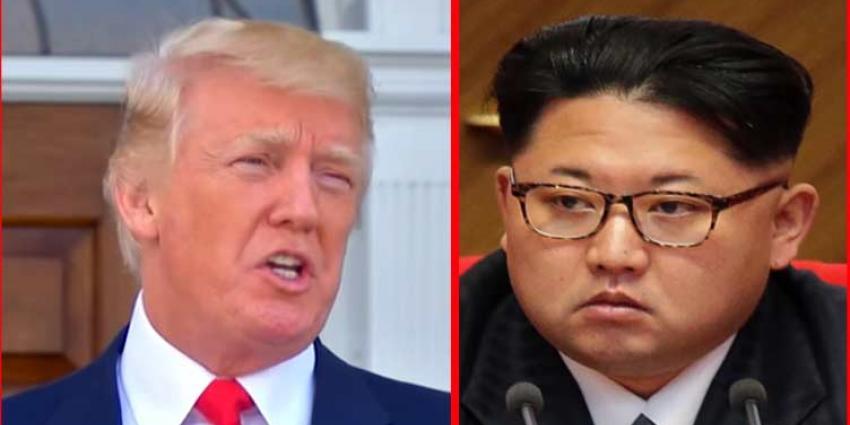 Trump en Kim Jong-un praten eerst onder vier ogen