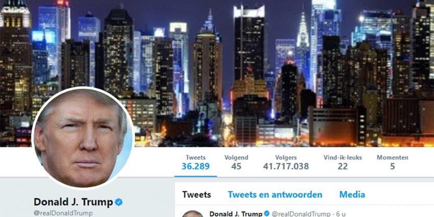 Twitter-medewerker deactiveert op zijn laatste dag account van Trump