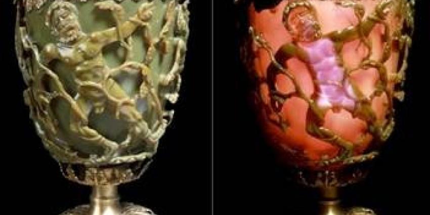 Lycurgus beker British Museum   TU Delft