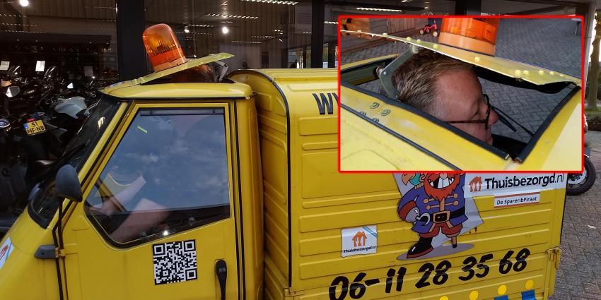 Niet iedereen past in een Tuktuk of toch!