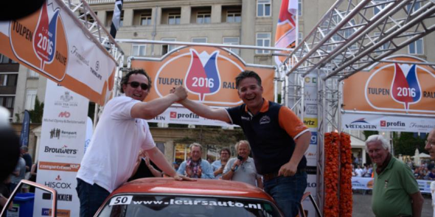 Alexander Leurs en Peter van Hoof winnen de 63e Tulpenrallye