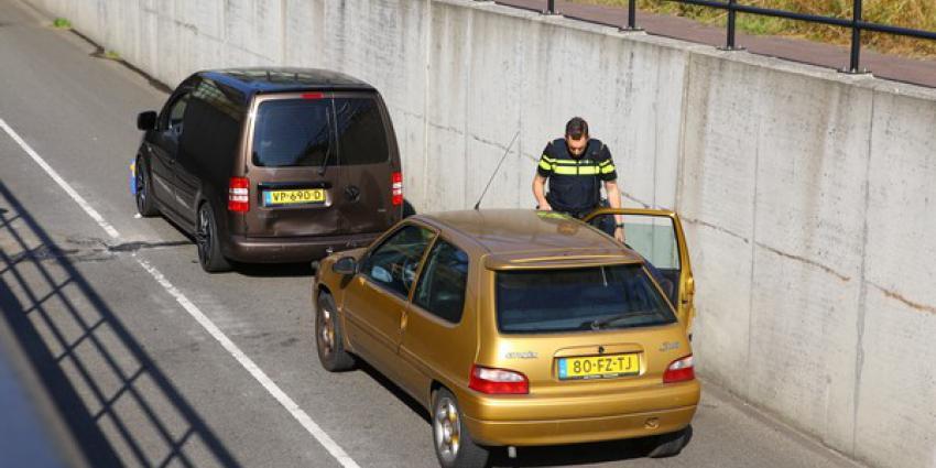 Tunnelbak Lagevoortseweg Boxtel afgesloten na ongeval
