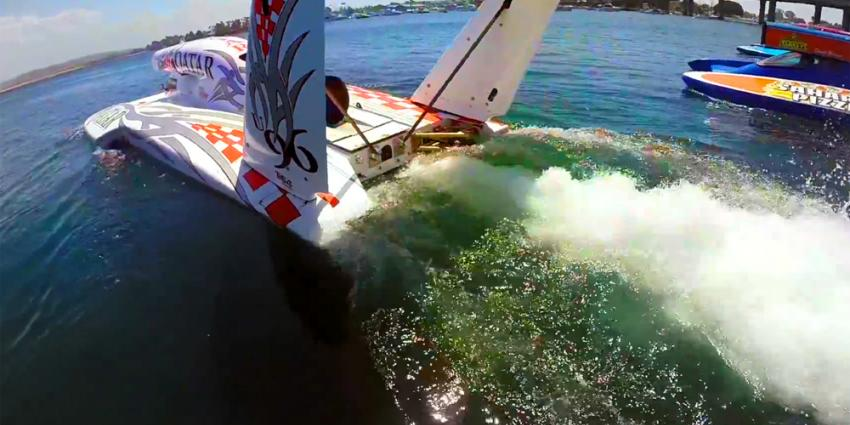Vaar eens mee op snelste raceboot met straalmotor