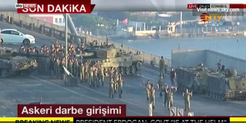 Doden en gewonden bij mislukte couppoging in Turkije