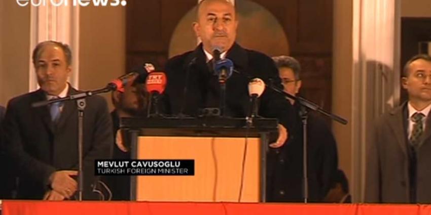 Turkse minister Cavusoglu komt toch naar Nederland