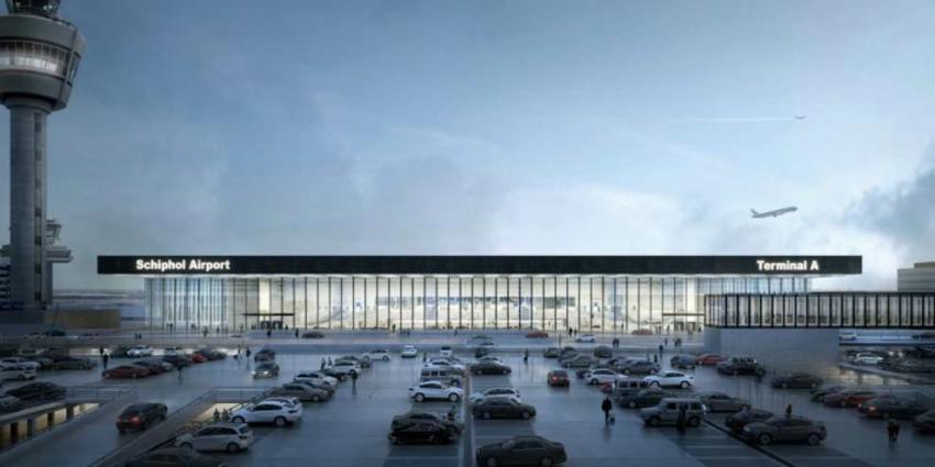 Schiphol bouwt nieuwe terminal