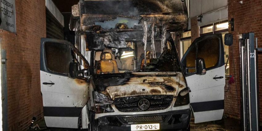 Drie verschillende autobranden industrieterrein Vlaardingen