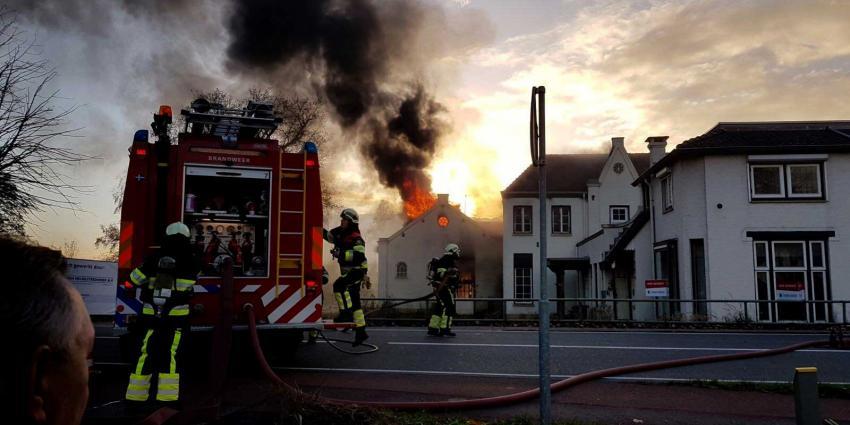 Uitslaande brand woning Boxtel