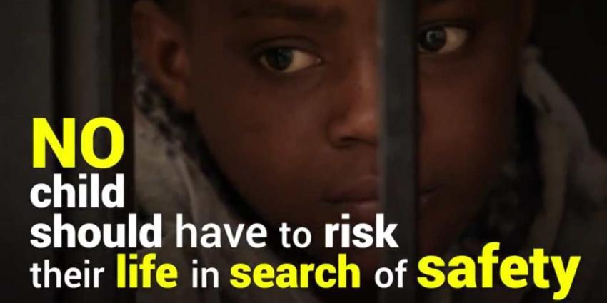 Kinderen worden verkracht of gaan dood in vlucht naar vrede