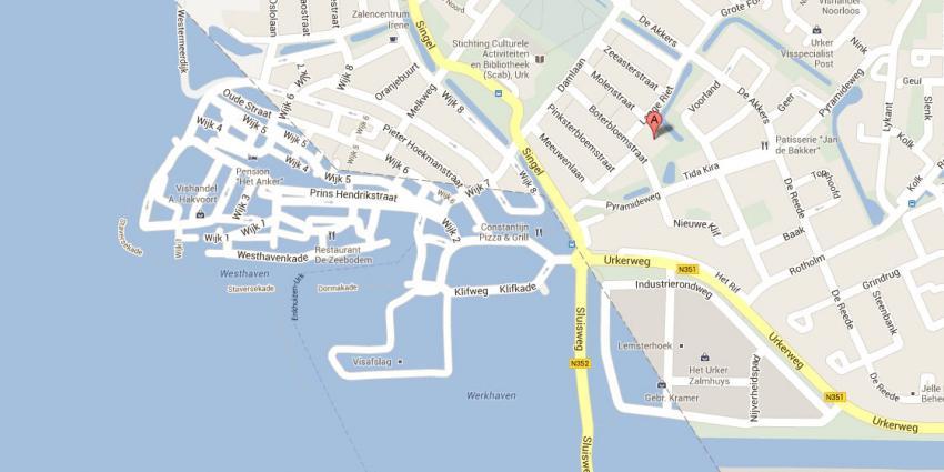 foto van kaart Urk | Google Maps | http://imgur.com/lS3PrjE