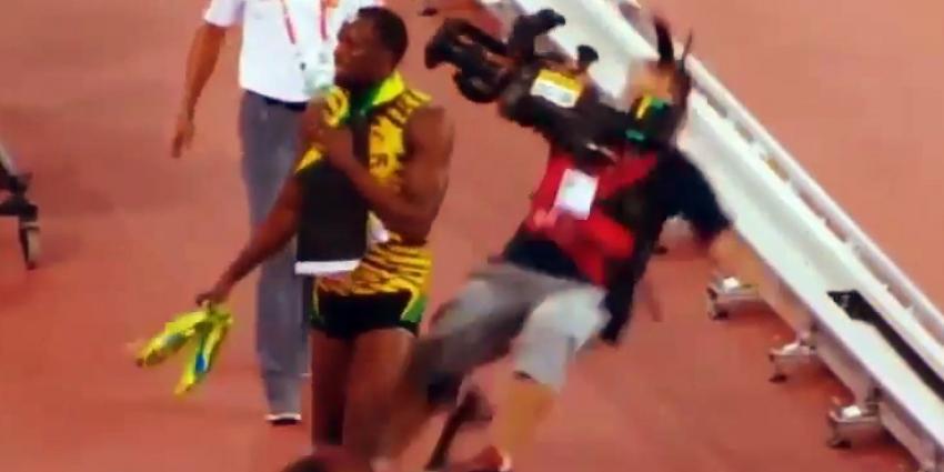 Hardloper Usain Bolt onderuit door Segway