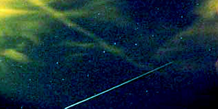 Filmbeelden gemaakt van meteoor boven Nederland
