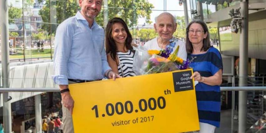 Van Gogh Museum verwelkomt nu al miljoenste bezoeker
