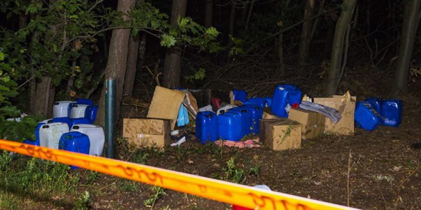 Tientallen vaten gevonden in bosgebied Sint-Oedenrode