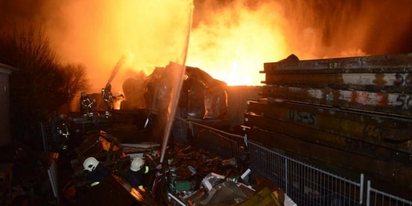 Foto van brand houthandel | Aneo Koning | www.fotokoning.nl