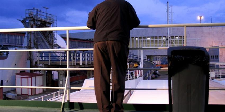 Vijf Britten aangehouden voor vernielingen aan boord ferry