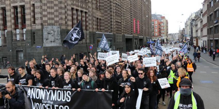 veganisten, demonstratie, dierenleed, industrie