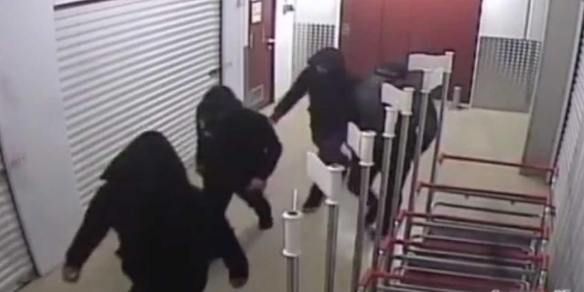 Mannen stelen honderden kilo's drop uit opslagruimte Nieuwegein