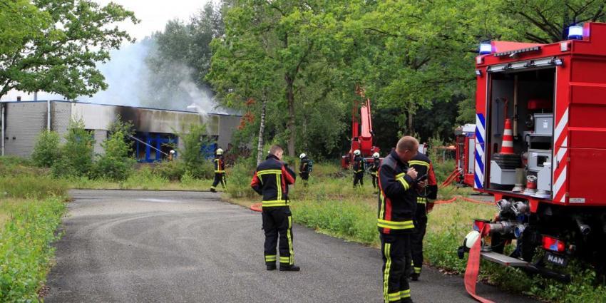Opnieuw brand op voormalig verkeerspark Assen