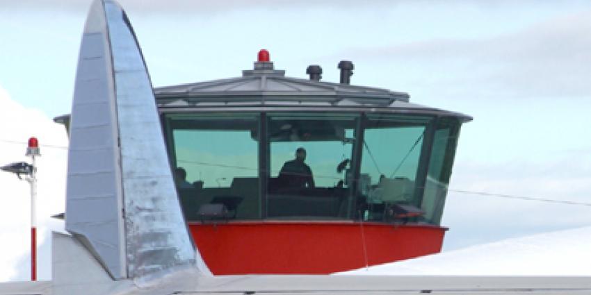 Foto van verkeerstoren Luchthaven Lelystad | Archief EHF