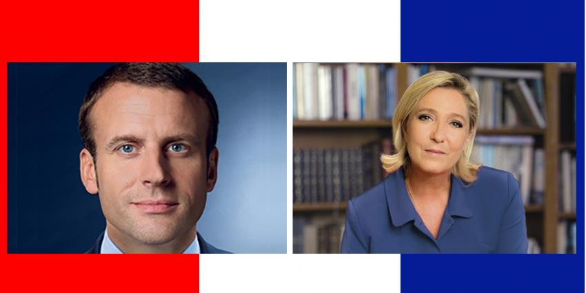 Fransen voor tweede ronde presidentsverkiezingen naar de stembus