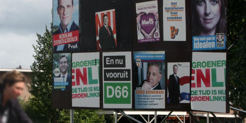 Aantal leden van landelijke politieke partij zakt onder de 300.000