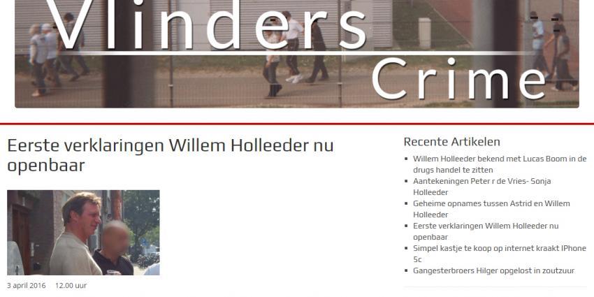 'Deel van verklaring Willem Holleeder uitgelekt'