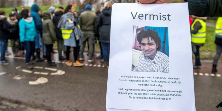 Nog geen spoor van vermiste Abdullah Mazmahor (15)