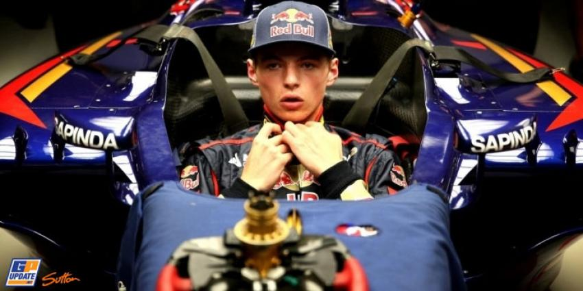 Max Verstappen zesde in vrije training