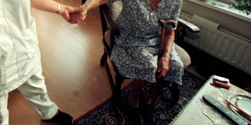 Kwart ouderen in verpleeghuis komt nauwelijks buiten