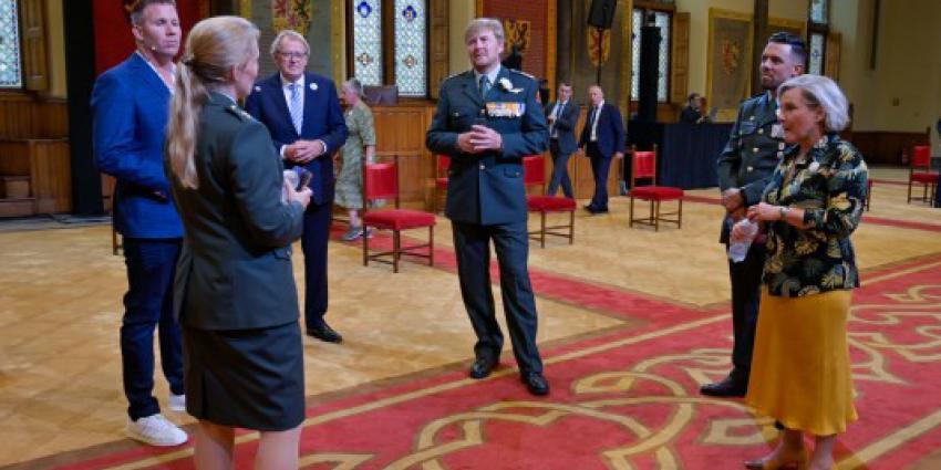 Veteranendag in Ridderzaal