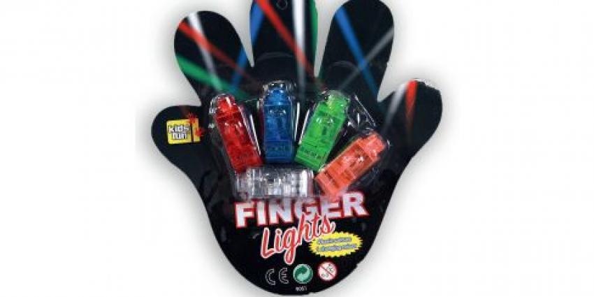 Terughaalactie Kids Fun vingerlampjes (Action)