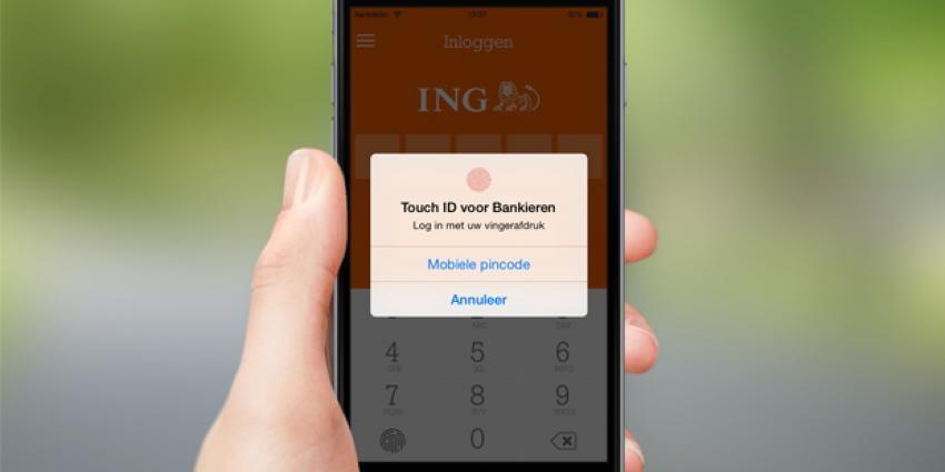 ING komt met betalen via vingerafdruk